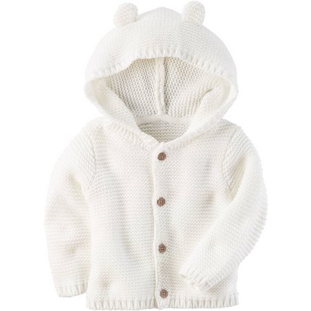 New! Carters Baby Boys Little Fella Hoodie