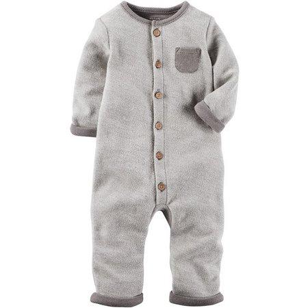 New! Carters Baby Boys Little Peanut Jumpsuit