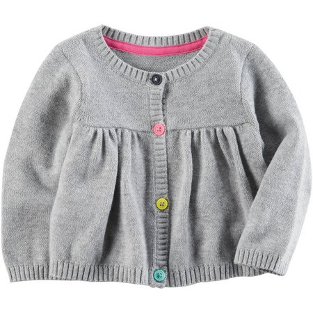 Carters Baby Girls Little Sweet Heart Cardigan