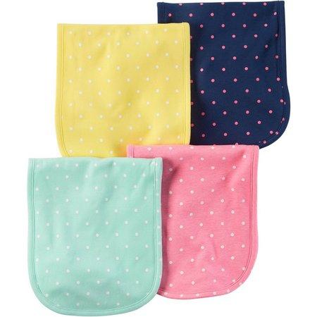 Carters Baby Girls 4-pk. Little Sweet Heart Cloths