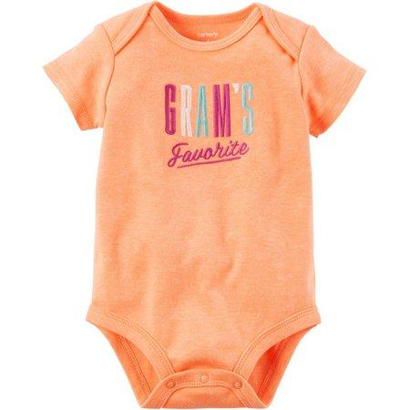Carters Baby Girls Gram's Favorite Bodysuit