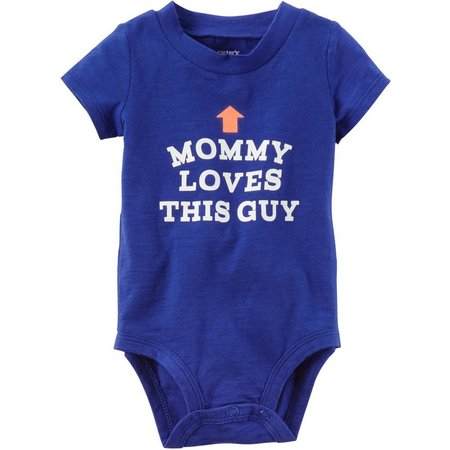 Carters Baby Boys Mommy Loves This Guy Bodysuit