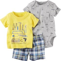 Carters Baby Boys 3-pc. Handyman Layette Set