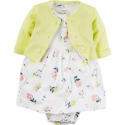 Carters Baby Girls Little Blooms Dress Set