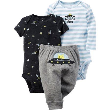 Carters Baby Boys 3-pc. Beyond Cute Layette Set