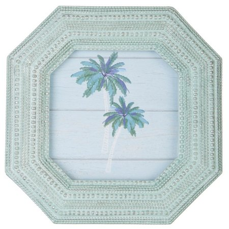 Enchante 4'' x 4'' Textured Octagon Photo Frame