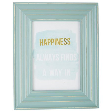 Enchante 5'' x 7'' Distressed Light Green Frame