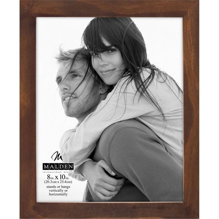 Malden 8'' x 10'' Linear Wood Walnut Frame