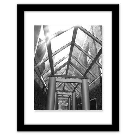 Malden 11' x 14'' Black Floater Wall Frame