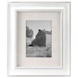 Malden 5'' x 7'' Barnside White Frame