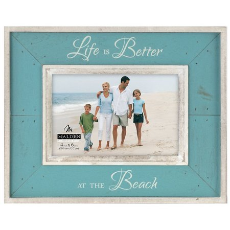 Malden 4'' x 6'' Life Is Better At