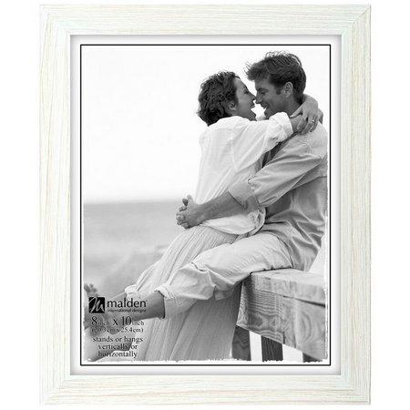 Malden 8'' x 10'' White Wash Photo Frame