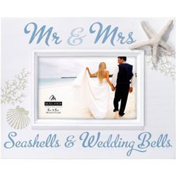 Malden 4'' x 6'' Mr. & Mrs. Seashells
