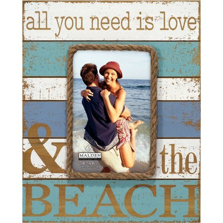 Malden 4'' x 6'' Love & The Beach