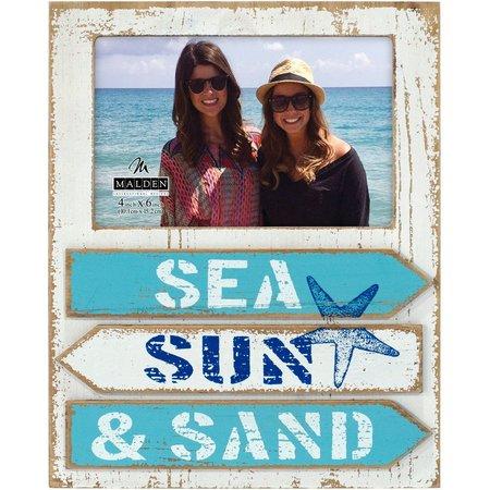 Malden 4'' x 6'' Sea, Sun, & Sand