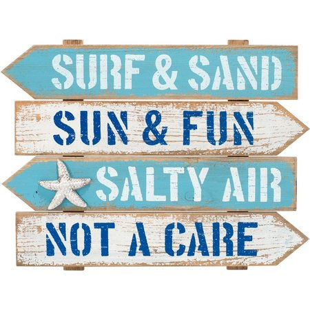 Malden Surf & Sand Arrow Wall Decoration