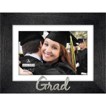 Malden 4'' x 6'' Grad Wood Photo Frame