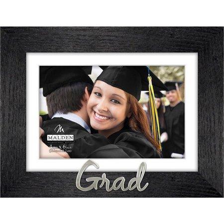 Malden 4'' x 6'' Grad Wood Photo Frame