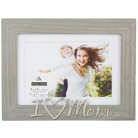 Malden 4'' x 6'' I Heart Mom Photo
