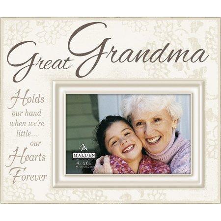 Malden 4'' x 6'' Great Grandma Photo Frame