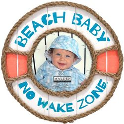 Malden 3'' x 3'' Beach Baby Bouy Photo
