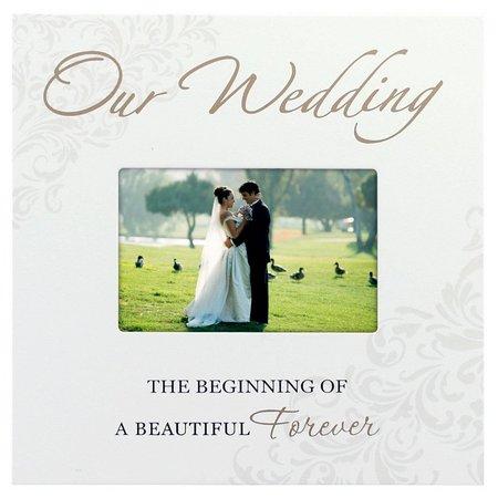 Malden 4'' x 6'' Our Wedding Frame