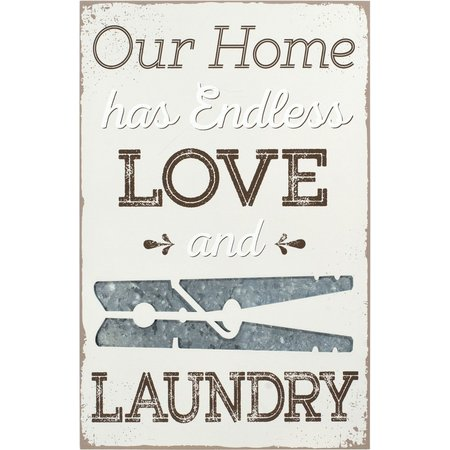 Malden Love & Laundry Wall Sign