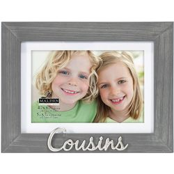 Malden 4'' x 6'' Cousins Photo Frame
