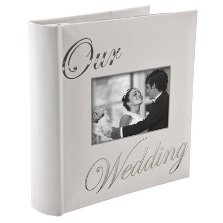 Malden 4'' x 6'' Our Wedding Photo Album