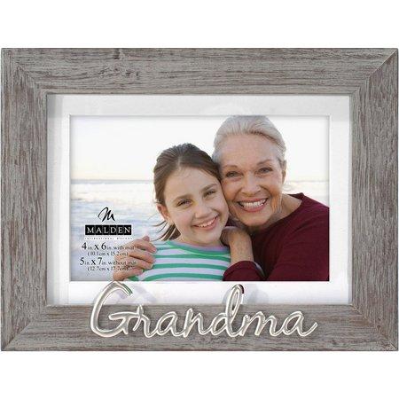 Malden 4'' x 6'' Grandma Wood Photo Frame