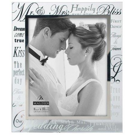 Malden 8'' x 10'' Mr. & Mrs. Glass
