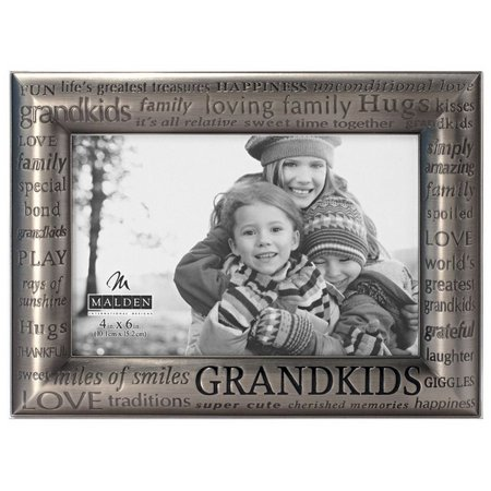 Malden 4'' x 6'' Grandkids Modern Frame