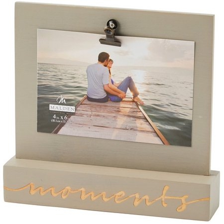 Malden 4'' x 6'' Moments Clip Photo Frame