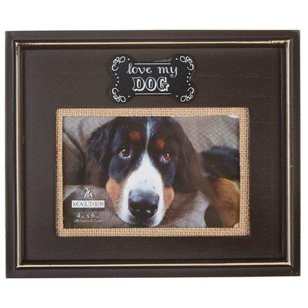 Malden 4'' x 6'' Love My Dog Photo