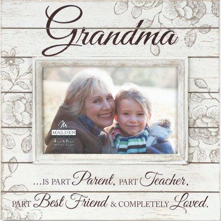 Malden 4'' x 6'' Grandma Script Photo Frame