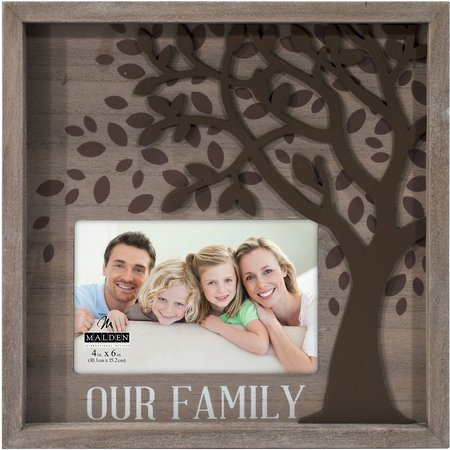 Malden 4'' x 6'' Family Tree Box Frame