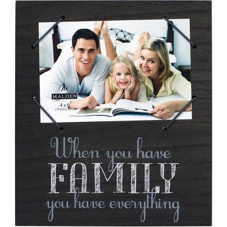 Malden 4'' x 6'' Family Everything Photo Frame