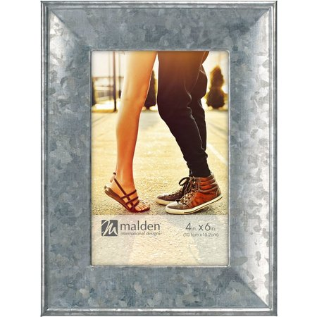Malden 4'' x 6'' Galvanized Metal Photo Frame