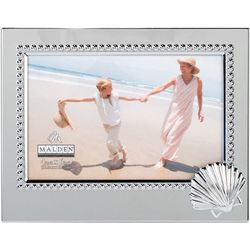Malden 4'' x 6'' Metal Beaded Shell Photo