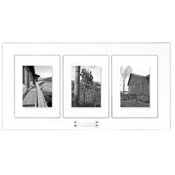 Malden 3 Opening White Window Floater Frame