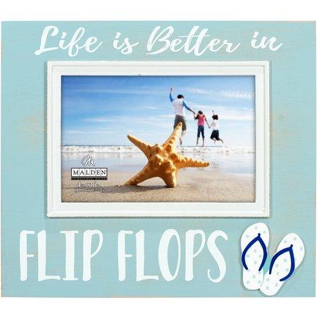 Malden 4'' x 6'' Life In Flip Flops