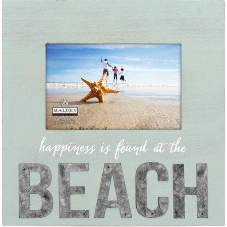 Malden 4'' x 6'' Beach Galvanized Photo Frame