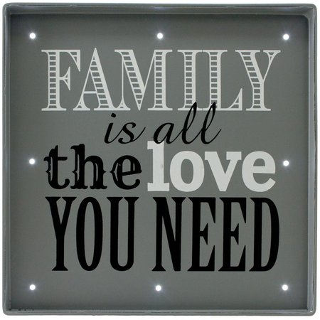 Fetco 9'' x 9'' Family Is All You