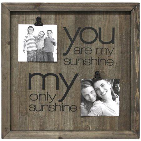 Fetco Wooden Sunshine Clip Photo Frame