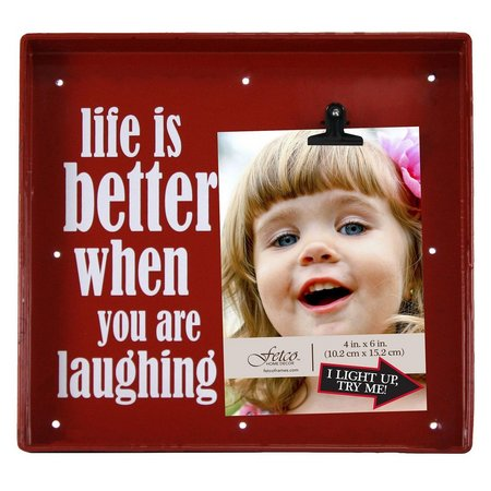 Fetco Life Is Better LED Box Photo Frame