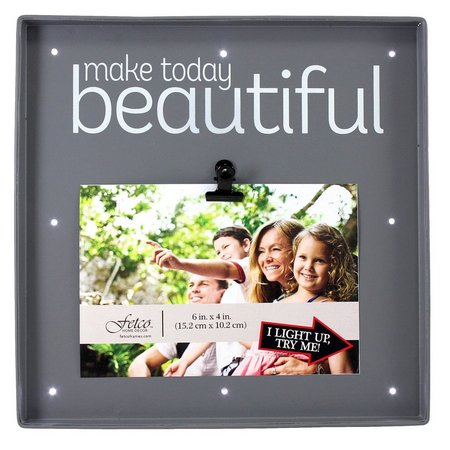 Fetco Make Today Beautiful LED Box Photo Frame