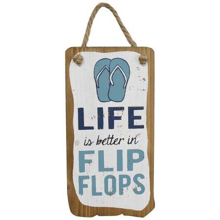 Fetco Flip Flops Wall Art
