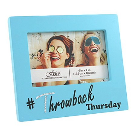 Fetco 6'' x 4'' Throwback Thursday Photo Frame
