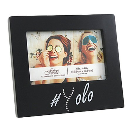 Fetco 6'' x 4'' YOLO Photo Frame