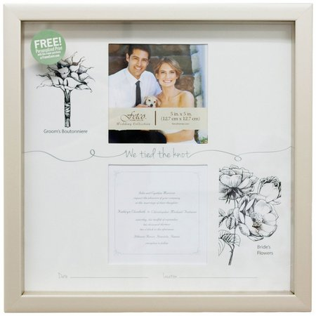 Fetco We Tied The Knot Photo Frame